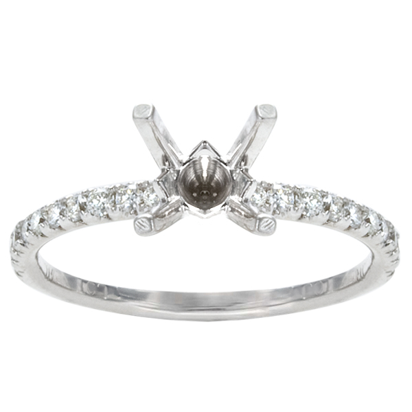 Keira Diamond Engagement Ring in Platinum; 1.31 ctw image 0