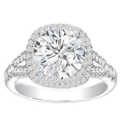 Diamond Ring in 14K White Gold- Zahava; 0.75 ctw