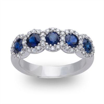 Blue Ivy Blue Sapphire Ring; 1.35ctw