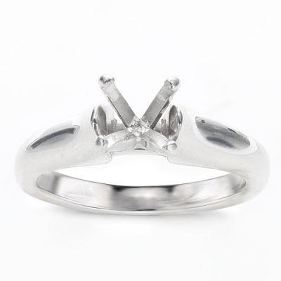 Damaris 14K White Gold Solitaire Ring
