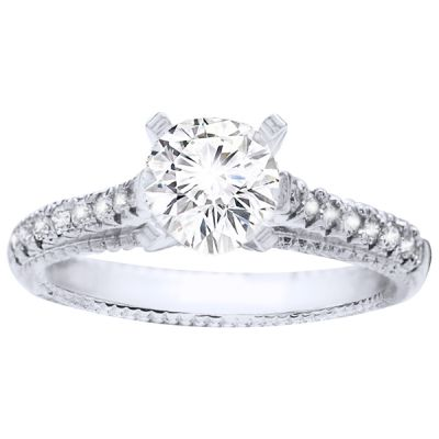 Nova Diamond Engagement Ring, .16 ctw