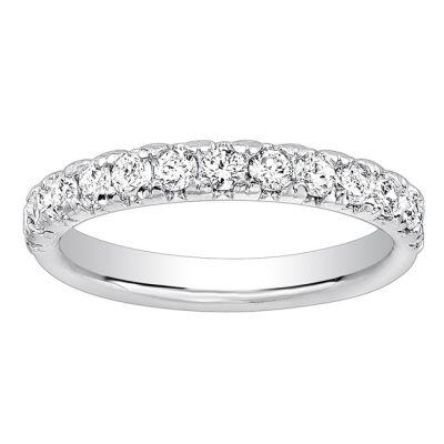 Ladies Diamond Wedding Band; Diamond .70 ctw
