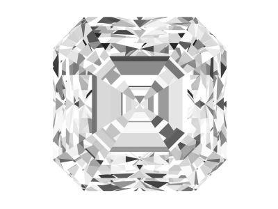 1.11 Carat Asscher Diamond