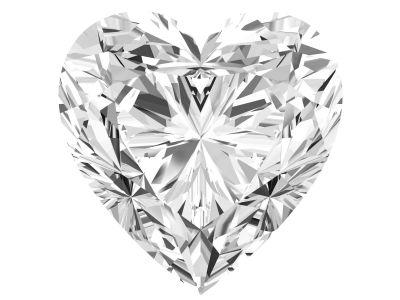 0.74 Carat Heart Diamond