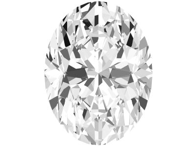 0.75 Carat Oval Diamond