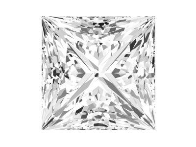 0.71 Carat Princess Diamond