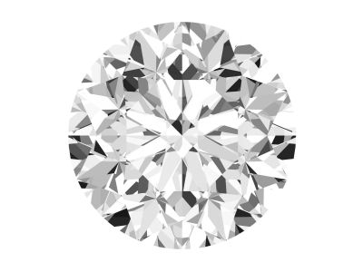 0.72 Carat Round Diamond