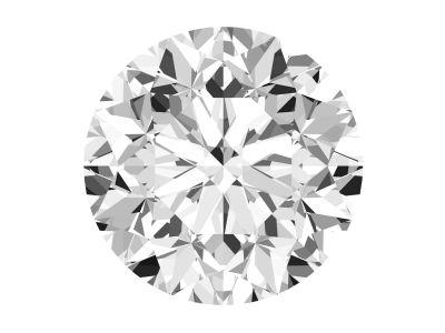 1.41 Carat Round Diamond