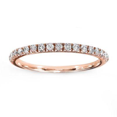 Gianna 14K Rose Gold Diamond Wedding Band; .45 ctw