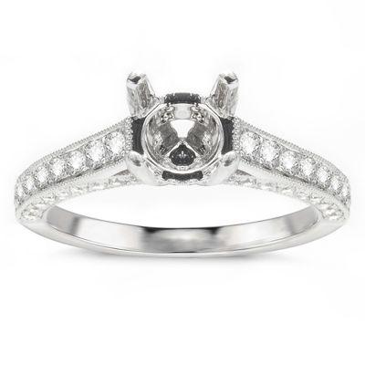 Calista Diamond Engagement Ring; .71 ct