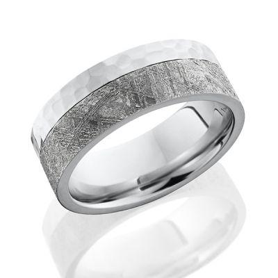 Meteorite Edge Men's Wedding Band