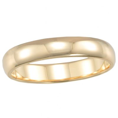 4mm Men's Band in 14K Yellow Gold