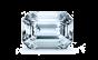 Hazel Double Halo Diamond Engagement Ring; Diamond .85 ctw with 0.8 Carat Emerald Diamond  thumb image 3