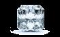 Skyler Three Stone Diamond Engagement Ring in 14k White Gold; Diamond .60 ctw with 0.84 Carat Radiant Diamond  thumb image 3