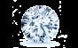 Samara Double Halo Engagement Ring; .61 ct with 0.7 Carat Round Diamond  thumb image 3