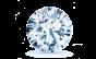 Estelle 14K Solitaire Diamond Engagement Ring; 0.40ctw with 0.71 Carat Round Diamond  thumb image 3