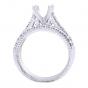 Diamond Bridal Set in 14K White Gold- Nova; 0.32 ctw thumb image 4
