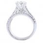 Diamond Bridal Set in 14K White Gold- Nova; 0.32 ctw thumb image 5