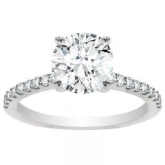 Emalee 14K White Gold Engagement Ring ; 1.25 ctw