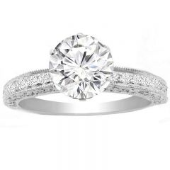 Paola Engagement Ring in 14K White Gold; 0.30 ctw