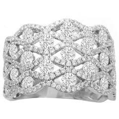 Marylou Fashion Diamond Ring; 2.00 ctw