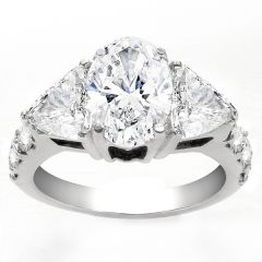 Marceliana Oval Engagement Ring