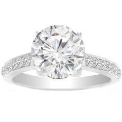 Crienza Diamond Ring In 14K White Gold; 0.50 Ctw