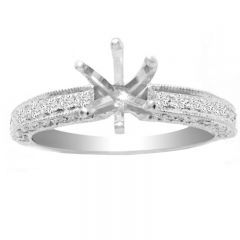 Paola 14K Engagement Ring; 0.30 ctw