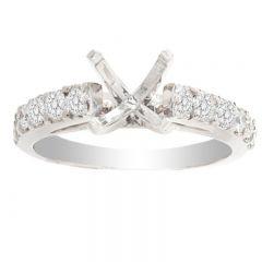 Andrea 14K Diamond Engagement Ring; .55 ctw