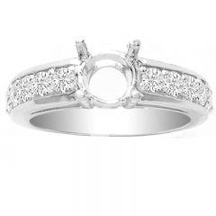 Susie 14K Engagement Ring; 0.72 ctw
