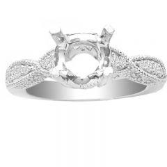 Paula 14K Engagement Ring; 0.50 ctw
