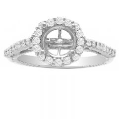 Princess Bow in 14k White Gold; 0.45 ctw