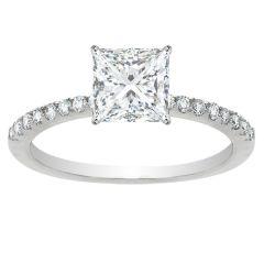 Emilia Princess Diamond Engagement Ring