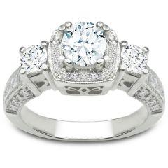 Bianca Three-Stone Ring