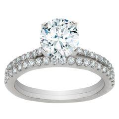 Emilia Engagement Ring Set
