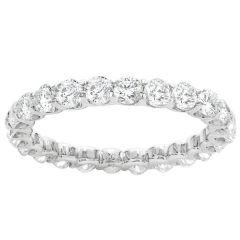 Levine Eternity Diamond Wedding Band: Diamond 2.00 ctw