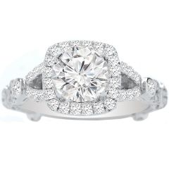 Sippora Diamond Engagement Ring in 14K White Gold; 0.50 ctw