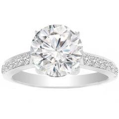 Crienza Diamond Ring in 14K White Gold; 0.28 ctw