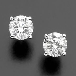 All About the Diamond Solitaire Earring Design (and Where to Find it in Houston)