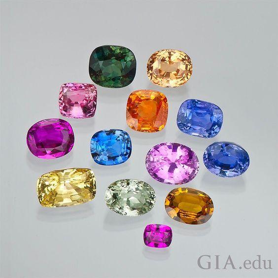 Color Gem Stones