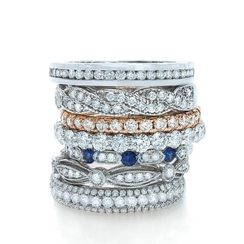 Beautiful Anniversary Band Designs Found in Houston