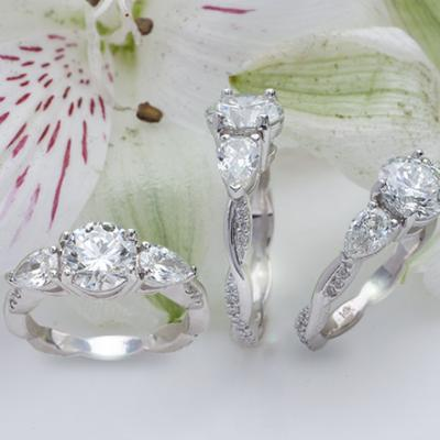 All About Three Stone Diamond Rings, and Where They Can be Found in Houston