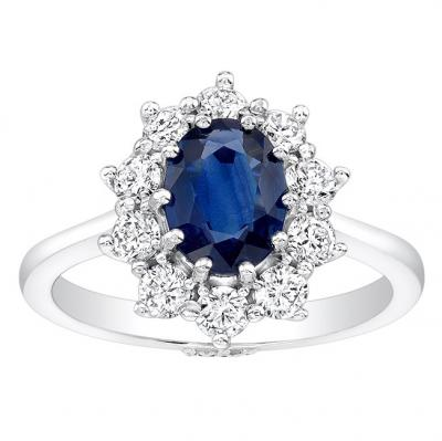 Sapphire Engagement Ring For A Princess