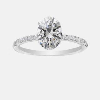 Center Diamonds Rings