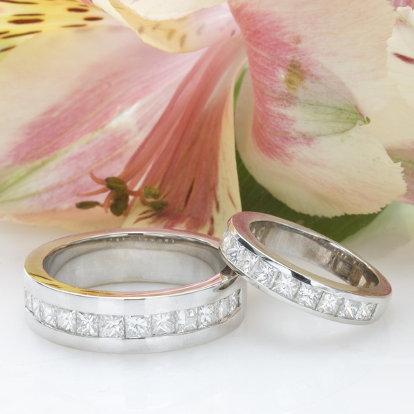 Custom His & Her Wedding Bands