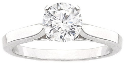 The Sophie Cathedral Solitaire Engagement Ring