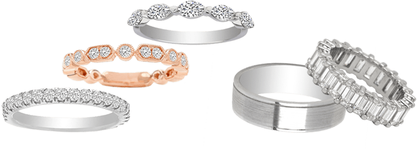 Wedding Rings & Bands