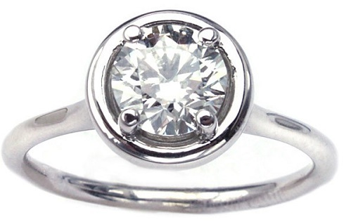 The Classic Solitaire Diamond Engagement Ring