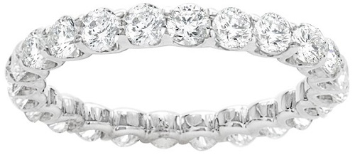Levine Eternity Diamond Wedding Band