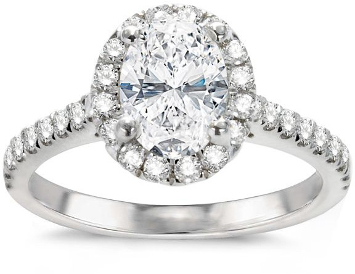 Center Diamond Included Engagement Rings